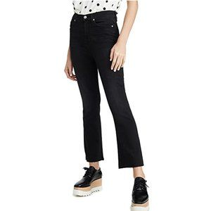 7 For All Mankind High Waist Ankle Slim Kick Jeans